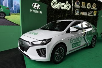 Grab perkenalkan layanan kendaraan listrik, bagaimana cara pesannya?