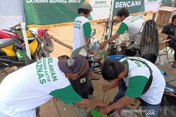 BAZNAS sediakan layanan bengkel gratis untuk korban banjir