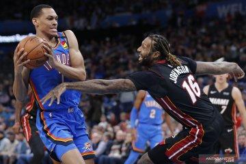 NBA:  Miami Heat kalahkan Oklahoma City Thunder 115-108