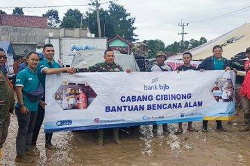 Bank BJB serahkan bantuan kemanusiaan untuk Kabupaten Bogor