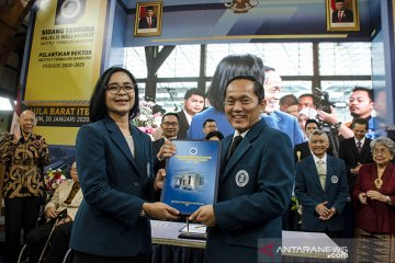 Pelantikan Rektor ITB periode 2020-2025