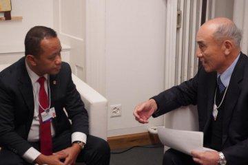 Di Davos, Bahlil bahas rencana ekspansi Mitsubishi Rp2,1 triliun