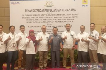 PLN gandeng Kejari Bogor selesaikan kasus hukum yang dihadapi