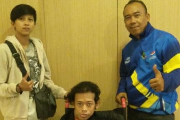 Atlet disabiltas asal Cianjur ikut Pelatda Peparnas