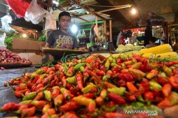 Harga cabai rawit di Bogor melonjak capai Rp80.000/kg