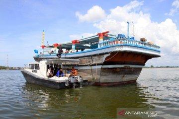 Nelayan Iran terdampar di Aceh Barat