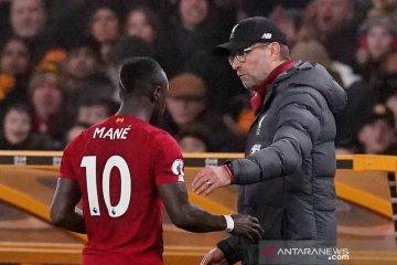 Sadio Mane absen pada laga Liverpool kontra West Ham