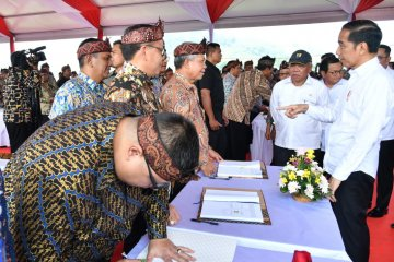 Presiden apresiasi lelang awal tahun proyek infrastruktur Kementerian PUPR 2020