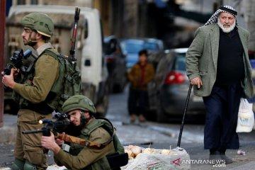 Bocah Palestina kehilangan matanya akibat ditembak pasukan Israel