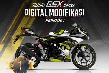 Suzuki umumkan pemenang GSX Series Digital Modifikasi Periode 1