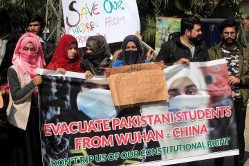 Orang tua mahasiswa Pakistan minta anaknya dipulangkan dari China
