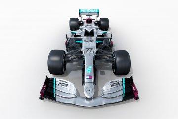Mercedes ungkap mobil penantang musim balap 2020