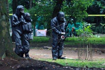 Dekontaminasi temuan paparan radioaktif
