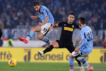 Lazio mendepak Inter Milan dari peringkat kedua klasemen Liga Italia