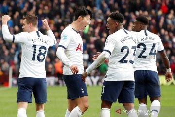 Tottenham kalahkan Villa, Arsenal menang telak atas Newcastle