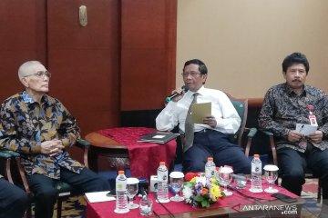 Prabowo dinilai berkinerja bagus, Mahfud: Memang bagus
