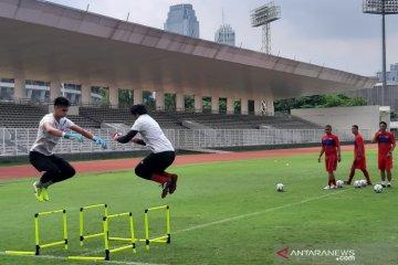Pemain timnas rasakan peningkatan ketahanan fisik