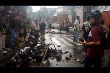 Kerusuhan suporter sepak bola di Blitar