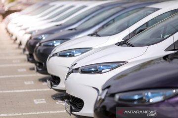 Penjualan mobil di Eropa turun
