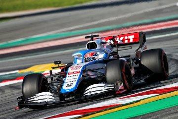 Russell rasakan peningkatan performa mobil baru Williams di Barcelona