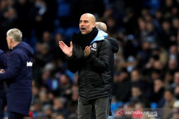 Guardiola senang Manchester City menang  2-1 di kandang Real Madrid