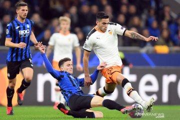 Atalanta menghantam Valencia 4-1 dalam leg pertama babak 16 besa Liga Champions
