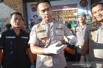 Penyelundupan sabu-sabu dalam sandal digagalkan polisi Cirebon