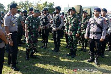 Pasukan Pengamanan Kunjungan Presiden di Aceh