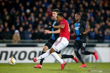 Anthony Martial cetak gol penting hindarkan MU dari kekalahan