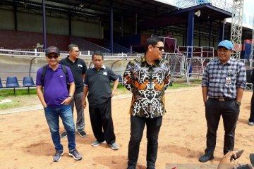 Sidak Stadion Brawijaya Kediri