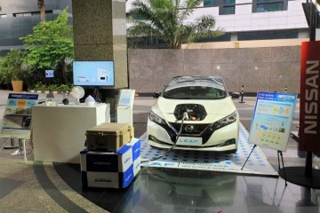 Nissan Leaf bisa memasok daya listrik untuk rumah tangga