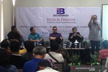 Survei: Prabowo menteri tingkat pengenalan tertinggi