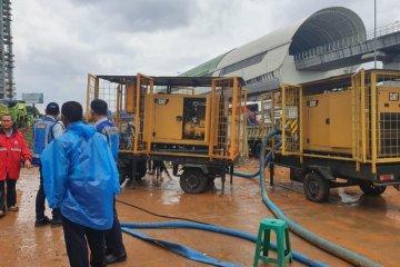 Terimbas banjir, lima gerbang tol Jakarta-Cikampek masih ditutup