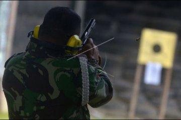 TNI AU latihan menembak