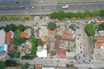 Pembebasan 15 bangunan untuk Tugu FIFA World Cup U-20 di Sentul Bogor