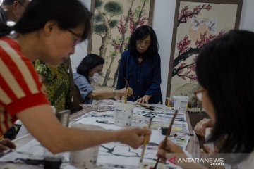 Workshop lukisan tradisional China