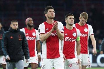 Ajax menang atas Getafe di leg 2 tapi tersingkir dari Liga Europa