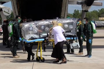 TNI AU siapkan transportasi pasien COVID-19 ke Pulau Galang