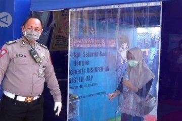 Pandemi COVID-19 tak halangi pelayanan SIM di Surabaya