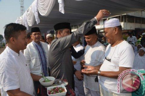 Walikota Padangsidimpuan Tepung Tawari Calon Jamaah Haji