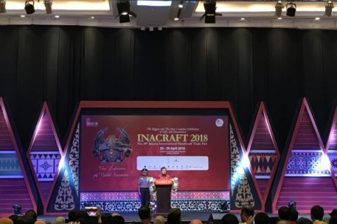 Wapres Jusuf Kalla dorong industri kerajinan tingkatkan kualitas