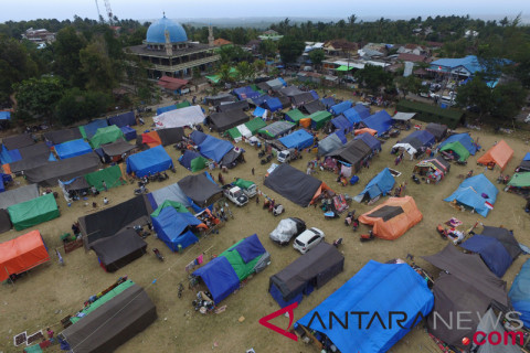 Ratusan titik pengungsian di Mataram ditargetkan bersih pekan depan