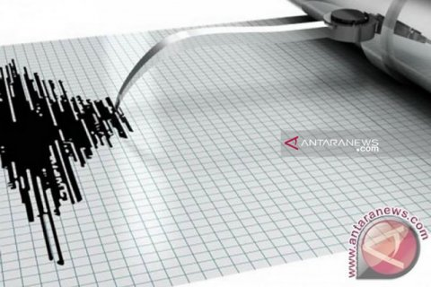 Gempa dengan magnitudo 6,2 guncang Halmahera