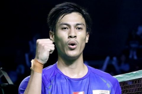 Jojo dikalahkan Shesar dalam duel senegara di babak pertama China Open