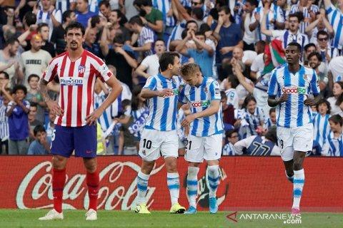 Atletico Madrid terperosok dengan menelan kekalahan di markas Sociedad