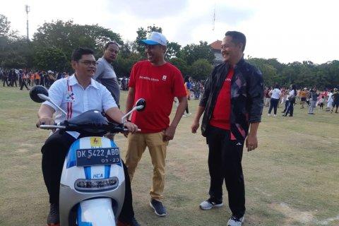 PLN Bali ajak coba motor listrik