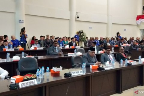 Anggota DPRD kota Sorong dilantik