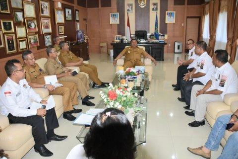 Komisioner KPU Sibolga sampaikan kondisi gedung KPU kepada wali kota
