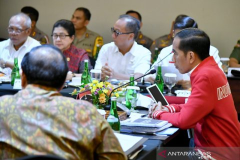 Presiden Joko Widodo ingatkan perangkat negara solid tangani Karhutla
