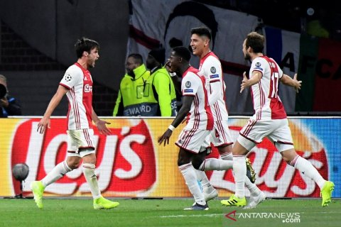 Liga Champions - Ajax hajar Lille tiga gol tanpa balas